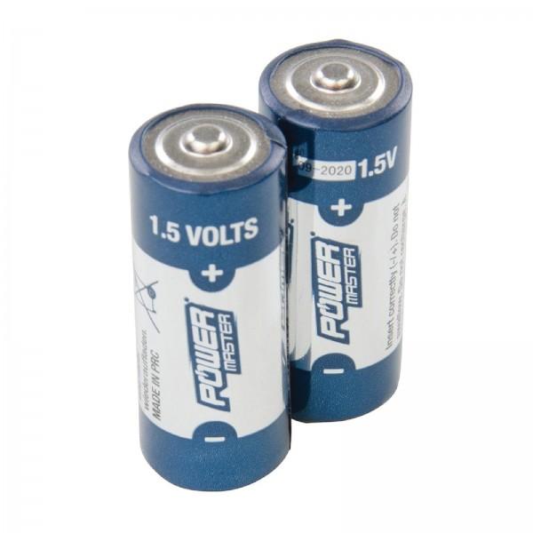 Super-Alkali-Batterien, Typ LR1, 1,5 V, Doppelpckg. 2er-Pckg.