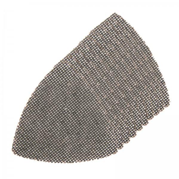 Silverline - Delta-Klettschleifgitter, 95 mm, 10er-Pckg.