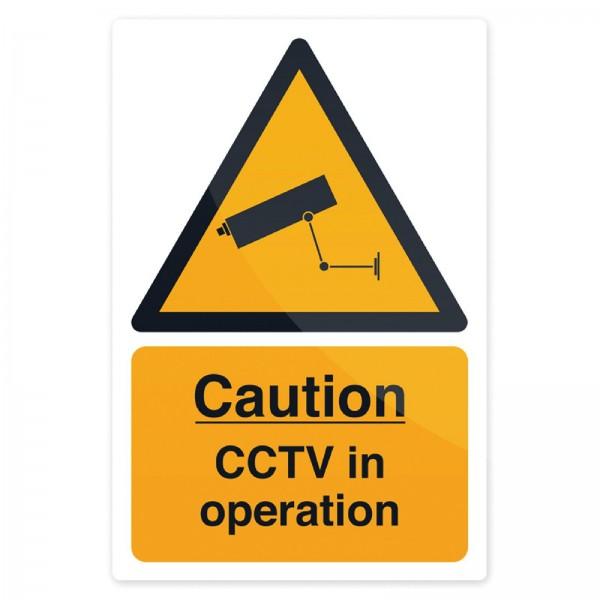 Fixman - Hinweisschild ?Achtung, Videoüberwachung!?