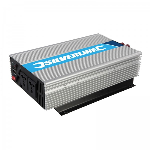 Silverline - Spannungswandler, 12 V