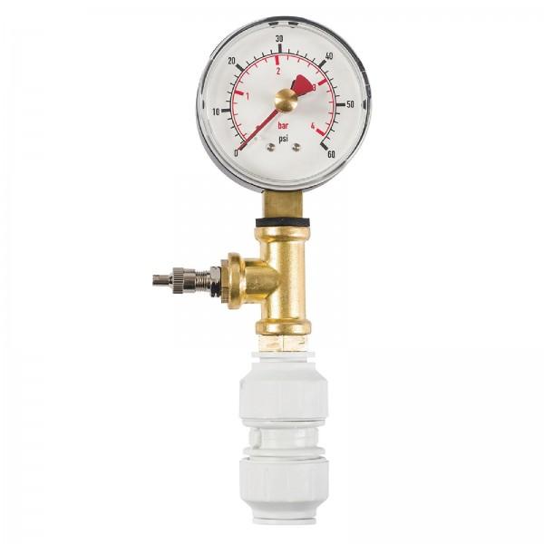 Dickie Dyer - Luftdruckmesser für trockene Dichtheitsprüfungen