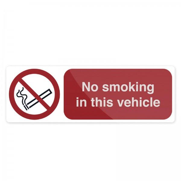 Fixman - Verbotsschild ?Rauchen im Fahrzeug verboten!?