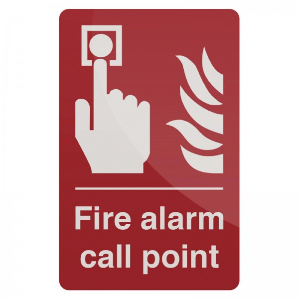 Fixman - Hinweisschild auf Handfeuermelder