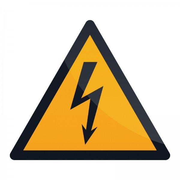 Fixman - Warnschild vor elektrischem Strom