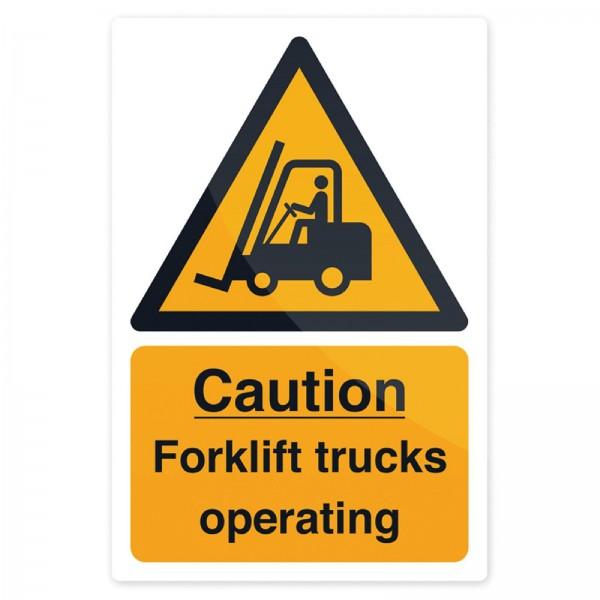"""Fixman - Warnschild ?Vorsicht, Flurförderzeuge!"""""""