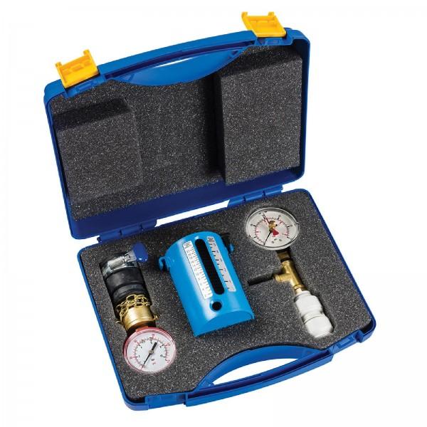 Dickie Dyer - Durchflussmengen-, Wasserdruck- und Dichtheits-Prüfkoffer