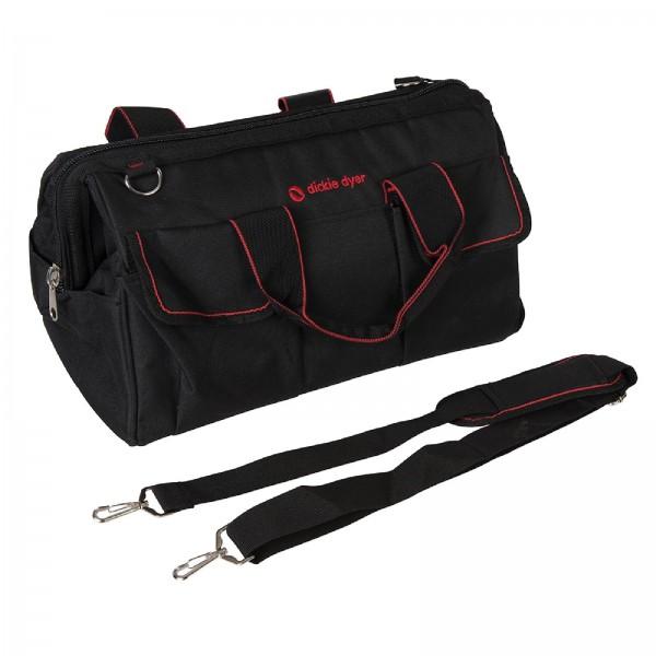 Dickie Dyer - Extra geräumige Werkzeugtasche mit 16 Fächern