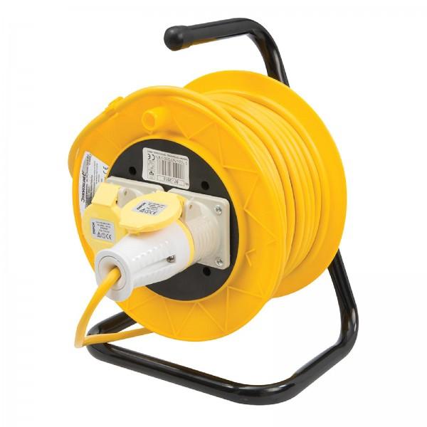 PowerMaster - Freistehende Ständer-Kabeltrommel, 16 A, 110 V