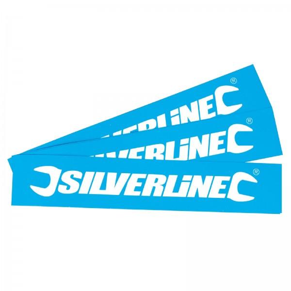 Silverline - Aufkleber, 10er-Pckg.