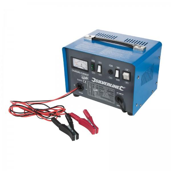 Silverline - Batterieladegerät, 12 V/24 V