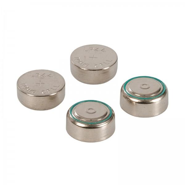 Alkali-Knopfzellenbatterien, LR44, 4er-Pckg. 4er-Pckg.