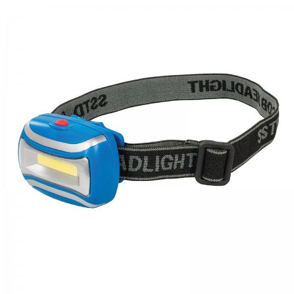 Silverline - COB-LED-Stirnlampe