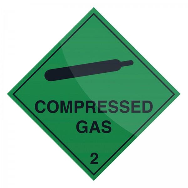 Fixman - Hinweisschild Druckgasflasche