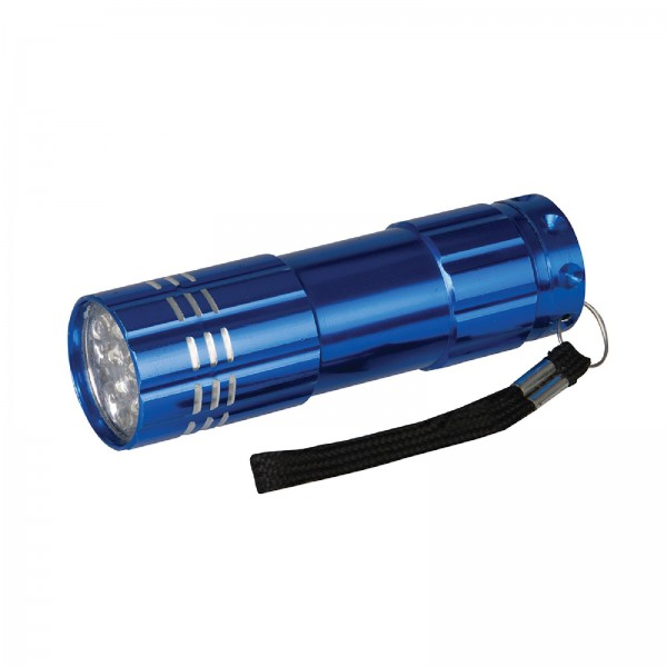 Silverline - Aluminium-LED-Taschenlampe