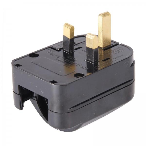 PowerMaster - Konturenstecker-Adapter für britische Steckdosen