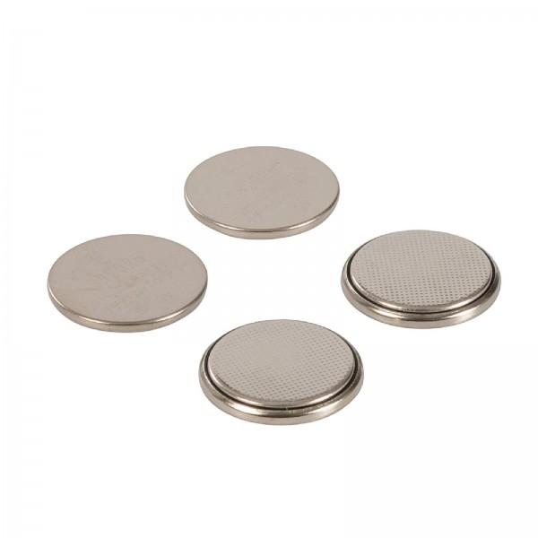 Lithium-Knopfzellenbatterien, CR2025, 4er-Pckg. CR2025