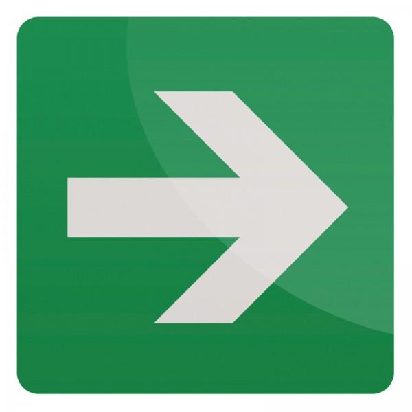Fixman - Gerader Richtungspfeil
