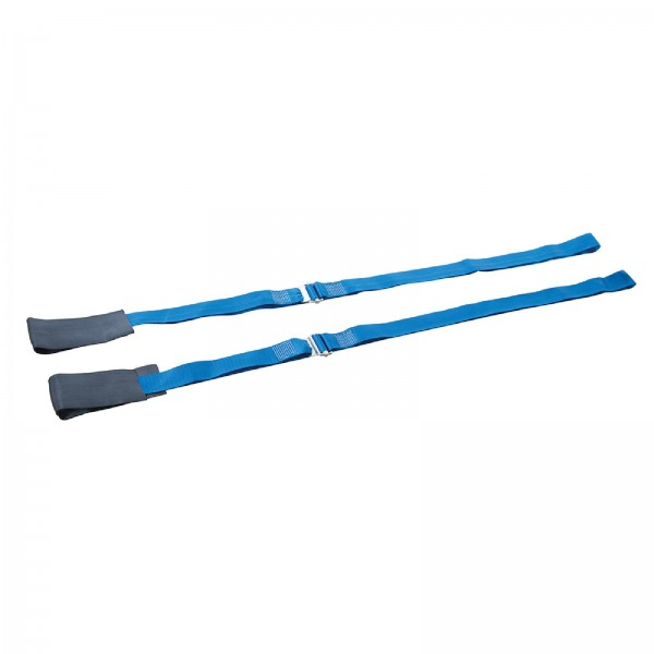 Silverline - Robuste Möbel-Tragegurte, verstellbar, 3 m, Doppelpckg.