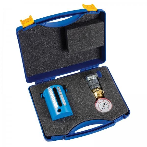 Dickie Dyer - Durchflussmengen- und Wasserdruck-Prüfkoffer