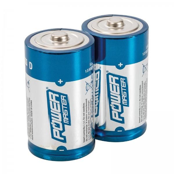 Super-Alkali-Batterien, Typ D, LR20, Doppelpckg. Doppelpckg.