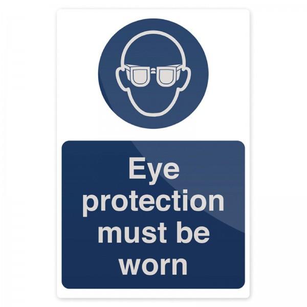 """Fixman - Gebotsschild ?Schutzbrille tragen!"""""""