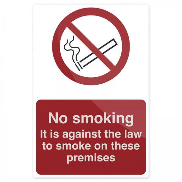 Fixman - Verbotsschild ?Rauchen gesetzlich verboten!?