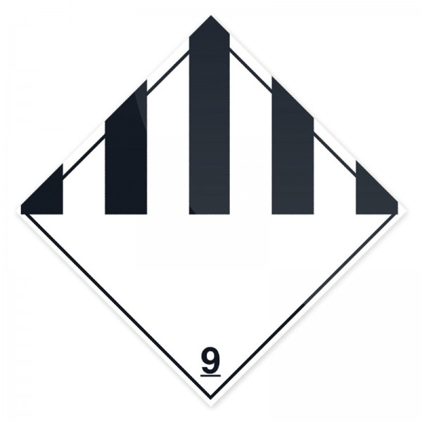 Fixman - Warntafel zu ADR-Gefahrgut, Gefahrgutklasse 9