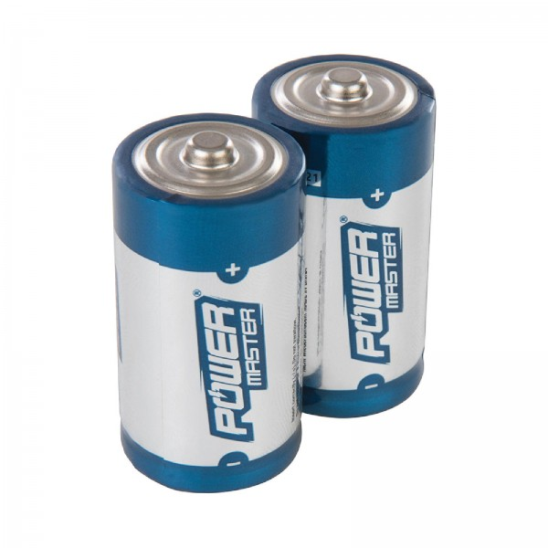 Super-Alkali-Batterien, Typ C, LR14, Doppelpckg. Doppelpckg.