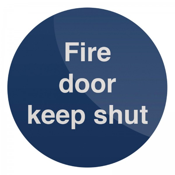 "Fixman - Gebotsschild ?Brandschutztür geschlossen halten!"""