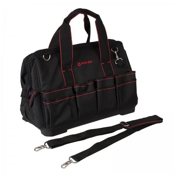 Dickie Dyer - Extra geräumige Werkzeugtasche mit steifem Boden
