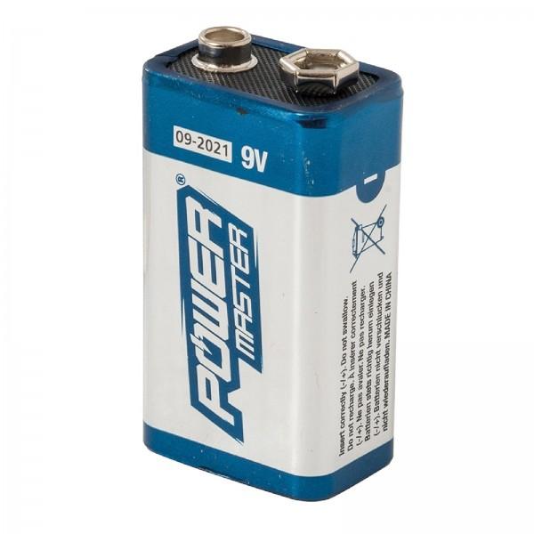 Super-Alkali-Batterie, 6LR61, 9 V Einzelpackung