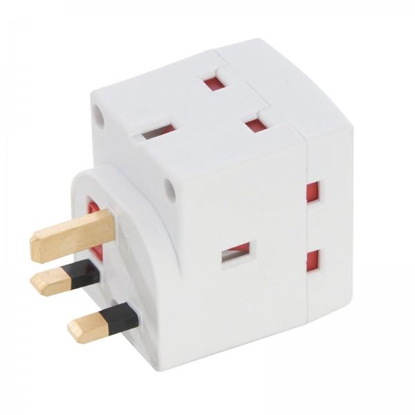 PowerMaster - Dreifach-Steckdosenverteiler, 230 V