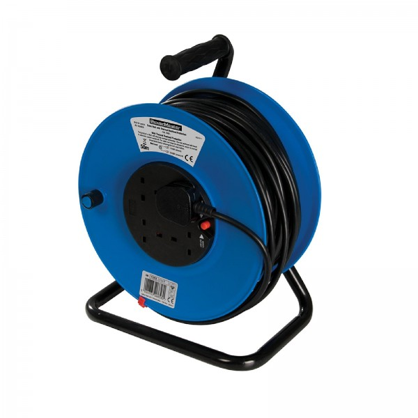 PowerMaster - Ständer-Kabeltrommel, 230 V