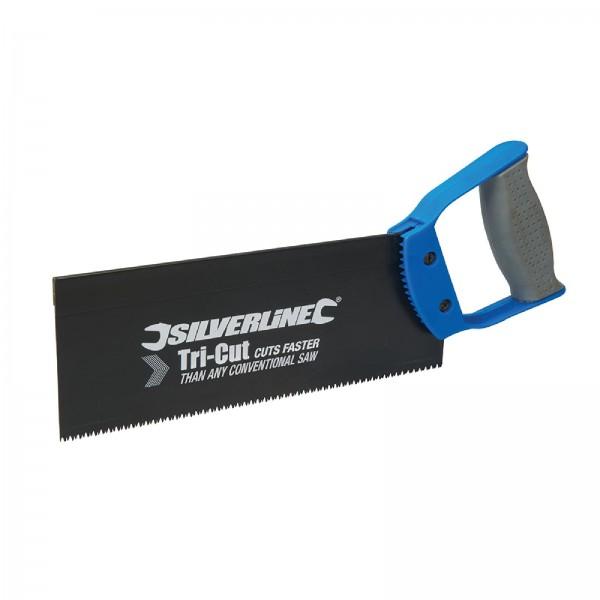 Silverline - Zapfensäge mit dreiseitig geschliffenen Zähnen