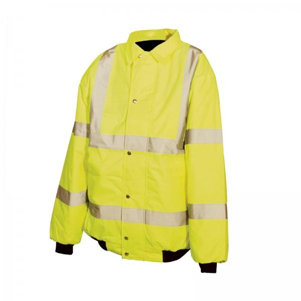 Silverline - Warnschutz-Bundjacke, Schutzklasse 3