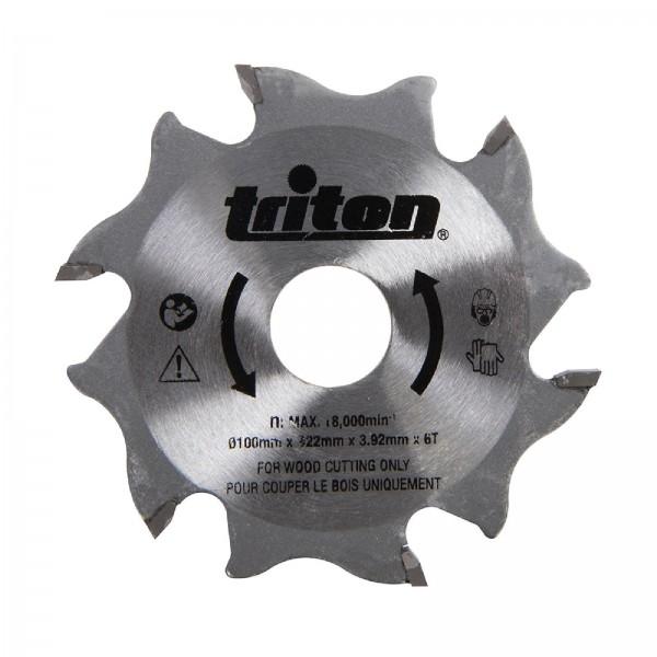 Fräsblatt für Flachdübelfräse, 100 mm Ersatzfräsblatt TBJC