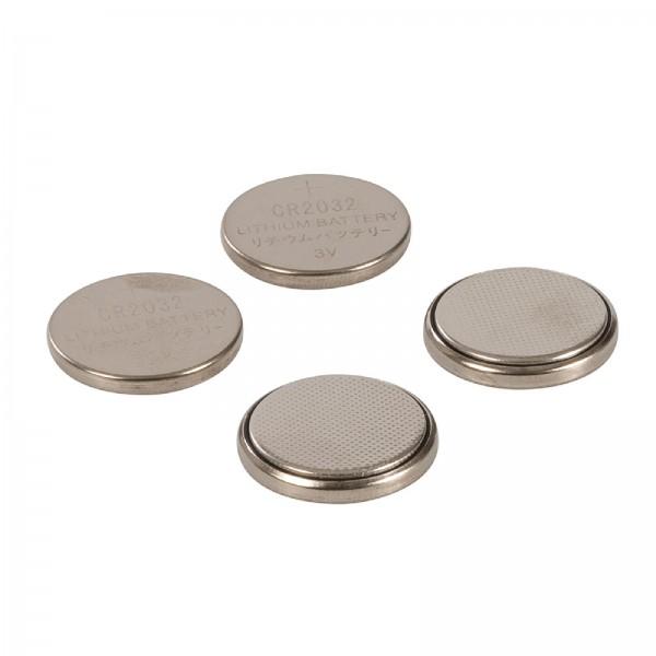 Lithium-Knopfzellenbatterien, CR2032, 4er-Pckg. CR2032