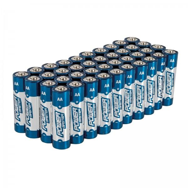 AA-Super-Alkali-Batterien, LR6, 40er-Pckg. 40er-Pckg.