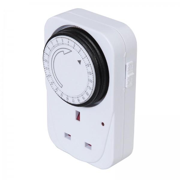 PowerMaster - Mechanische Steckdosen-Zeitschaltuhr, 230 V
