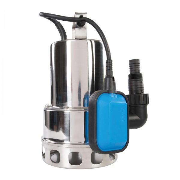 Schmutzwasser-Edelstahltauchpumpe, 550 W 10.500 l/Std.