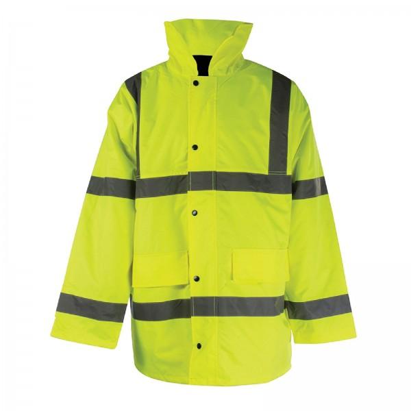 Silverline - Warnschutzjacke, Schutzklasse 3
