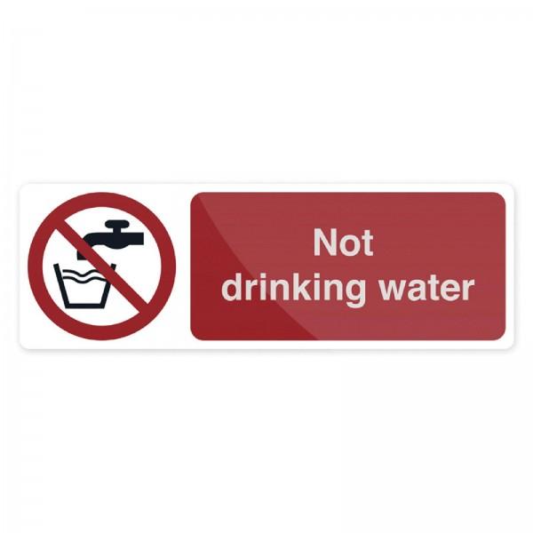 Fixman - Verbotsschild ?Kein Trinkwasser?