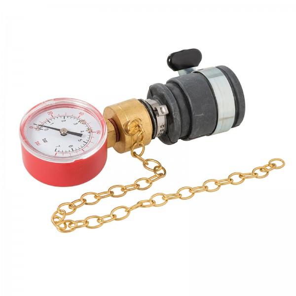 Dickie Dyer - Wasserdruckmanometer, 0-6 bar