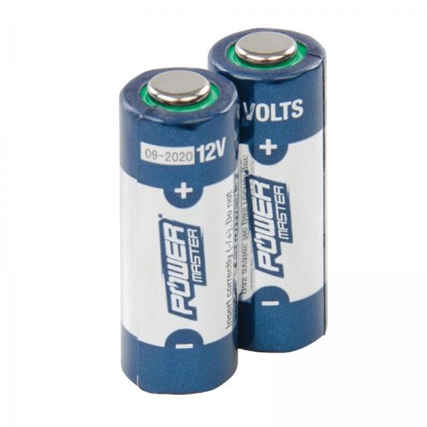 Super-Alkali-Batterien, Typ A23, 12 V, Doppelpckg. 2er-Pckg.