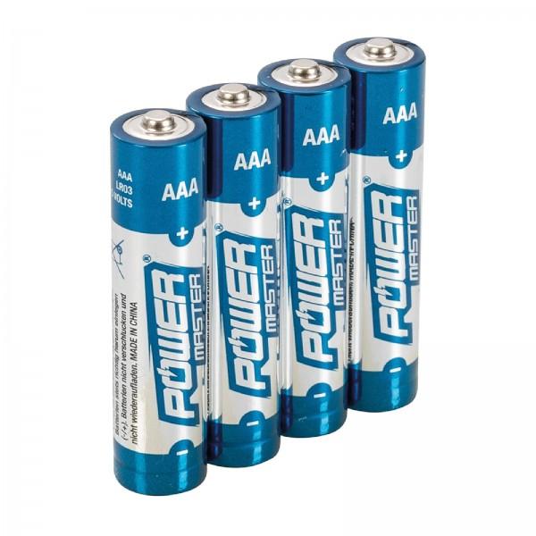 AAA-Super-Alkali-Batterien, LR03, 4er-Pckg. 4er-Pckg.