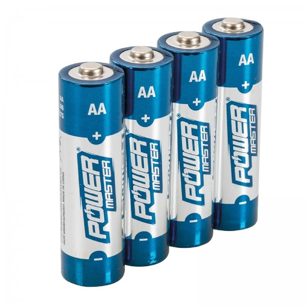 AA-Super-Alkali-Batterien, LR6, 4er-Pckg. 4er-Pckg.