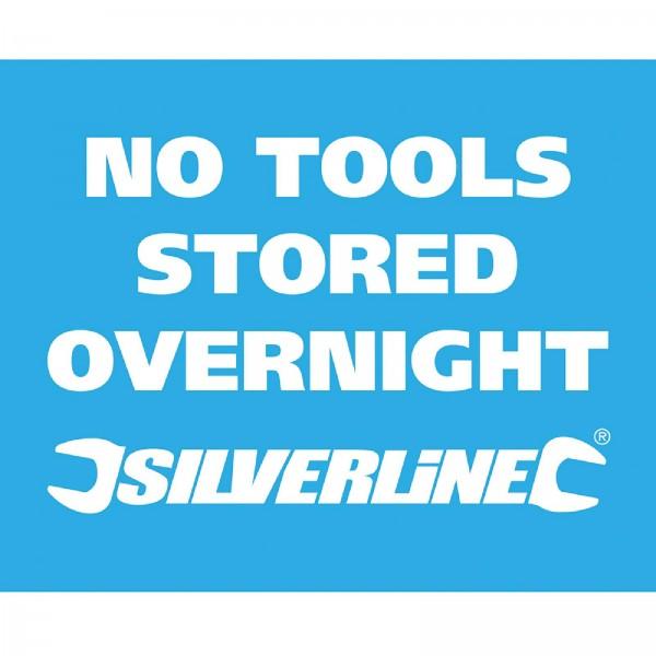 Silverline - Fahrzeugfenster-Aufkleber