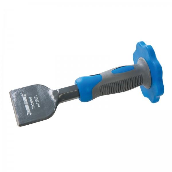 Silverline - Elektrikermeißel mit Handschutz