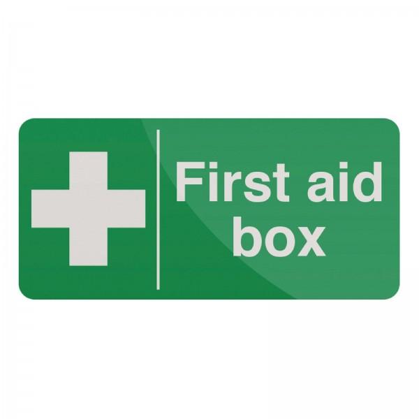 Fixman - Hinweisschild auf Erste-Hilfe-Kasten