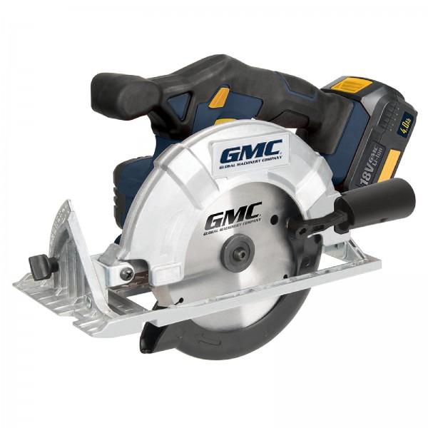 GMC - Akku-Handkreissäge, 18 V, 165 mm